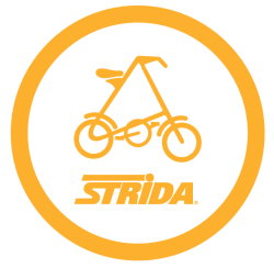 Strida Faltrad Logo