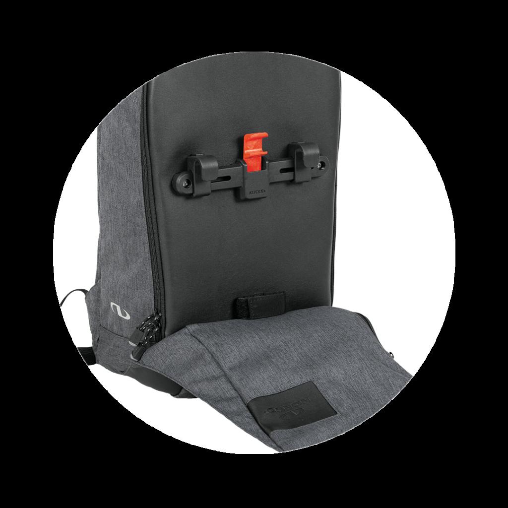 Compactschiene am Cadrickrucksack