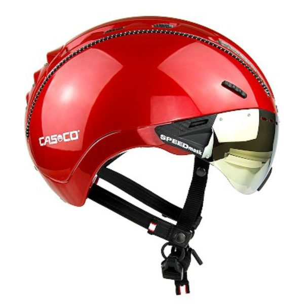 CASCO_ROADster_Plus_Glossy_Red_Visor_Sunset